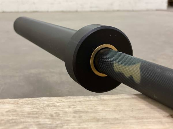 Camouflage OIympic Bar 20 Kg | Black Chrome Barbell