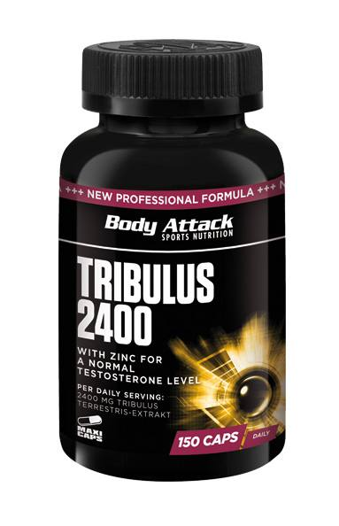 Body Attack Tribulus 2400 | Testo Booster