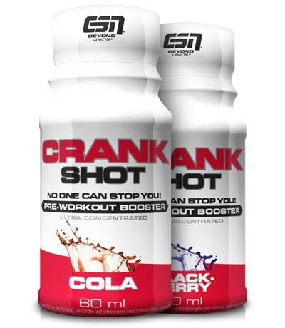 ESN Crank SHOT | ready to drink Booster