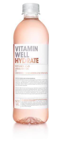 Vitamin Well HYDRATE   gesundes Erfrischungsgetränk