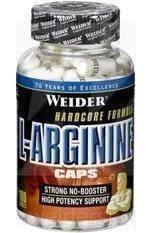 Weider L-Arginin Caps | maximaler Pump