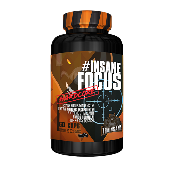 Trainsane #Insane Focus | Pre Workout Booster