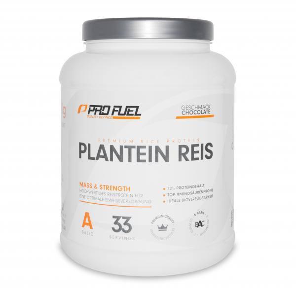 ProFuel Plantein Reis | Vegan Protein