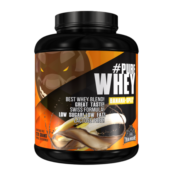 Trainsane #Pure Whey Protein
