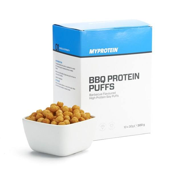 MyProtein BBQ Protein Puffs | Box à 10 Stk.