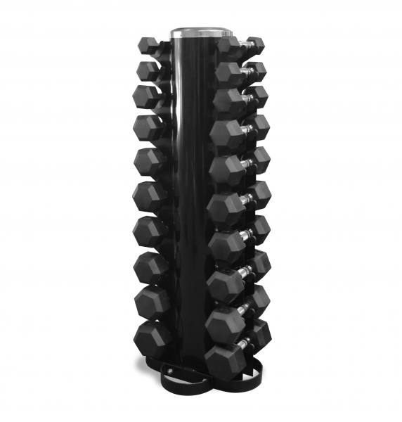 Kurzhantel Set 1-10 Kg inkl. Ständer | Hex Dumbbells