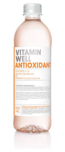 Vitamin Well ANTIOXIDANT | gesundes Erfrischungsgetränk