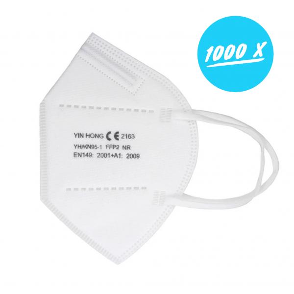 FFP2 Atemschutzmasken | 1000er Set Masken