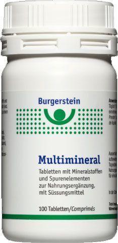 Burgerstein Multimineral | Mineralstoffe