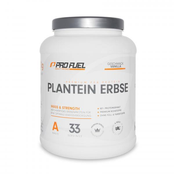 ProFuel Plantein Erbse | Veganes Protein