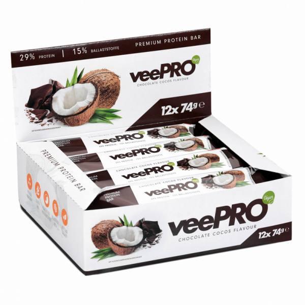 veePRO Protein Riegel | Vegan