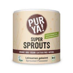 Purya Bio Super Sprouts Leinsamen